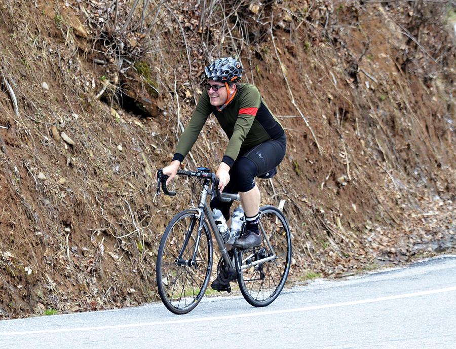 Grand Fondo Rider Photograph