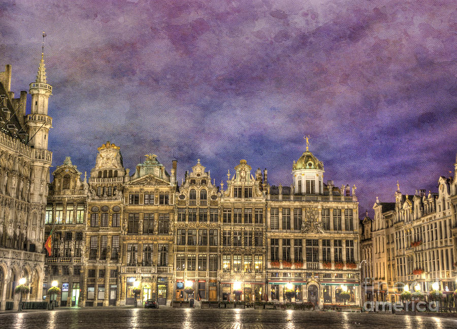 Grand Place Photograph  - Grand Place Fine Art Print