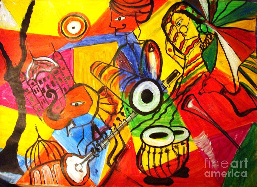 Painting - Grand Rajasthan  by Sonali Singh