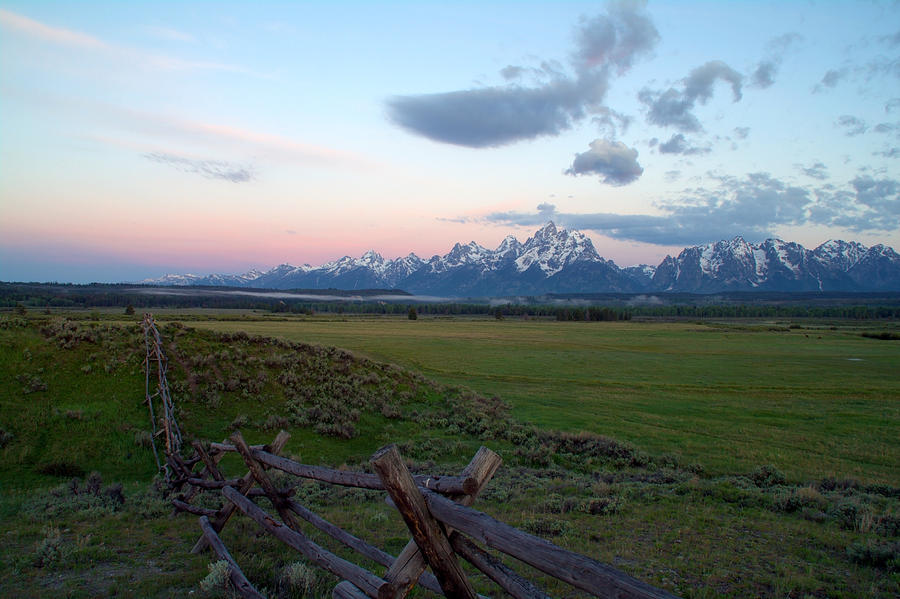 Grand Tetons Before Sunrise Photograph  - Grand Tetons Before Sunrise Fine Art Print