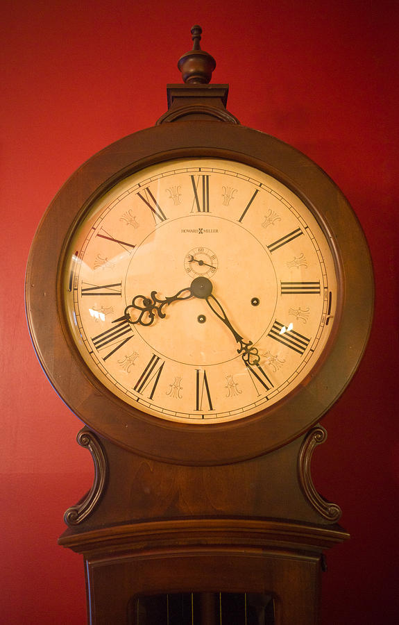 Grandfather Clock Top 1 Photograph  - Grandfather Clock Top 1 Fine Art Print