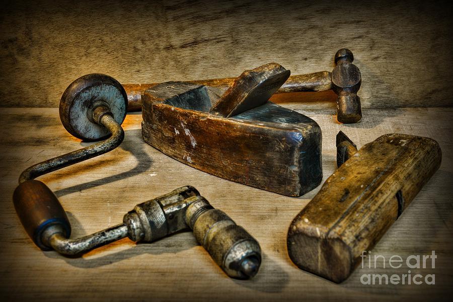 Paul Ward Photograph - Grandfathers Tools by Paul Ward