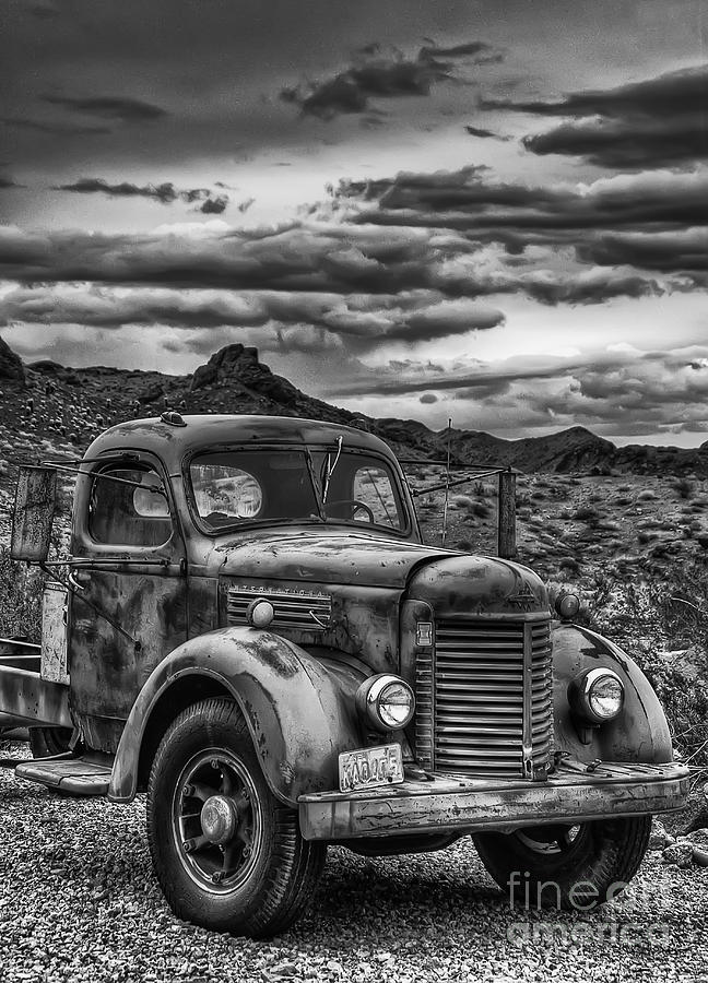 Time Gone By Photograph - Grandpas Ride by Eddie Yerkish