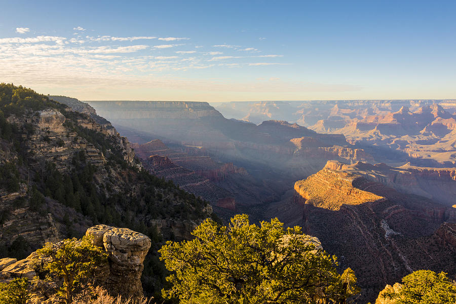 Grandview Sunset - Grand Canyon National Park - Arizona Photograph