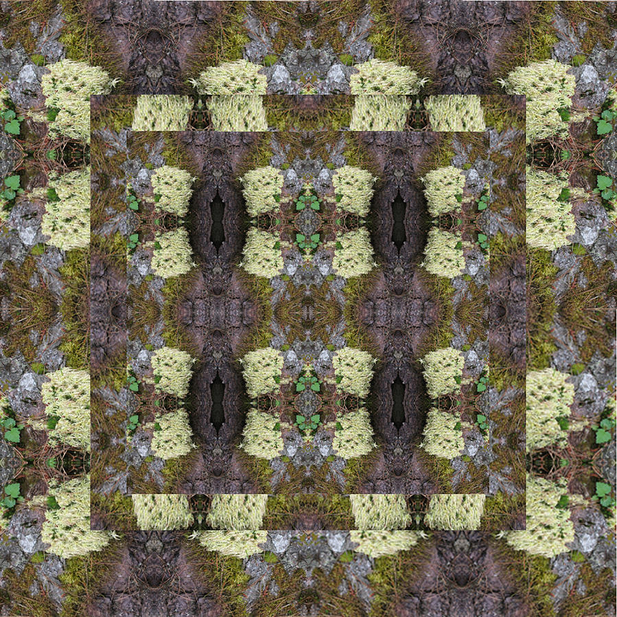 Granite And Moss Tapestry Textile By Nancy Sendell
