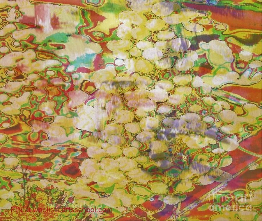 Grapes Painting - Grape Abundance by PainterArtist FIN