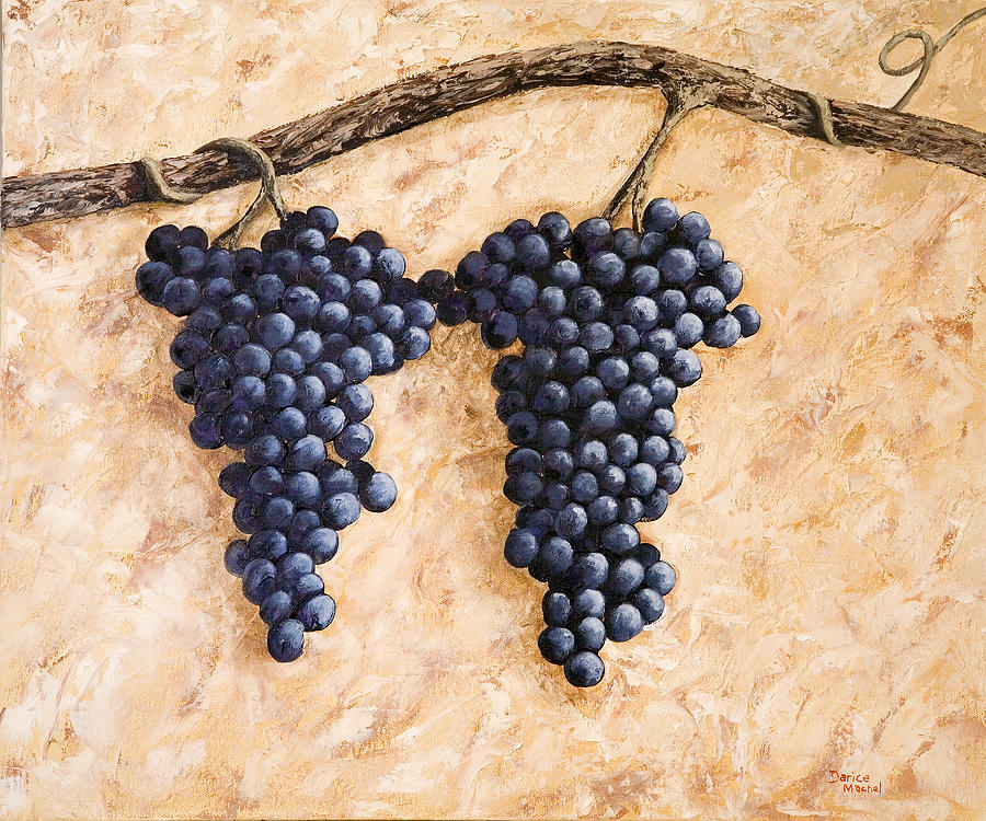 Grape Vine Painting