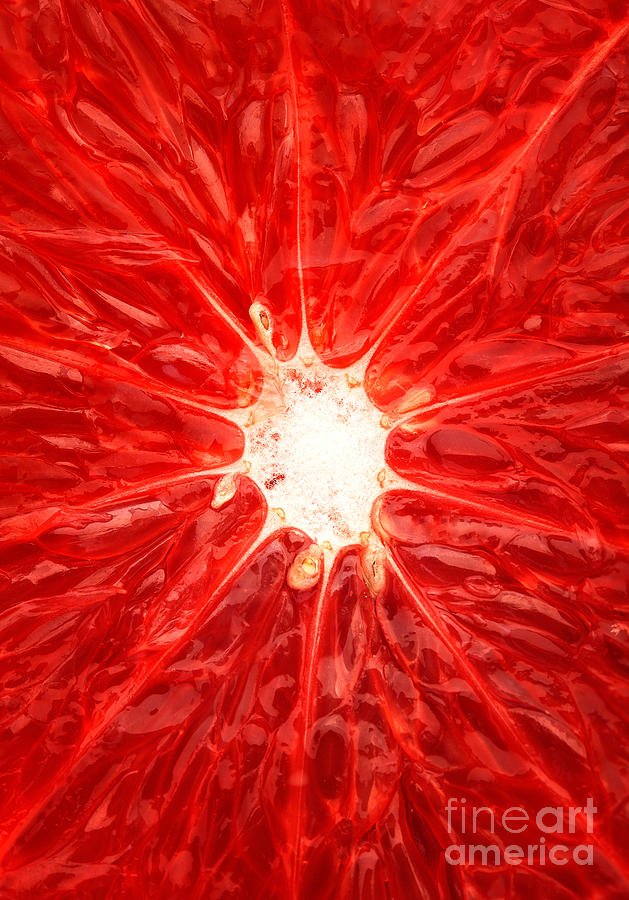 Grapefruit Close-up Photograph