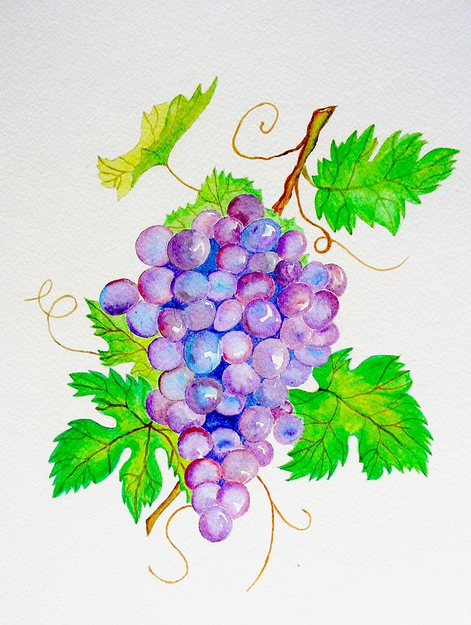 Grapes 2 Painting