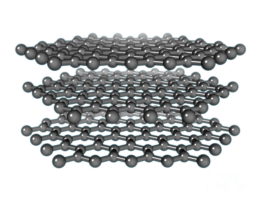 Graphite Molecular Model Photograph