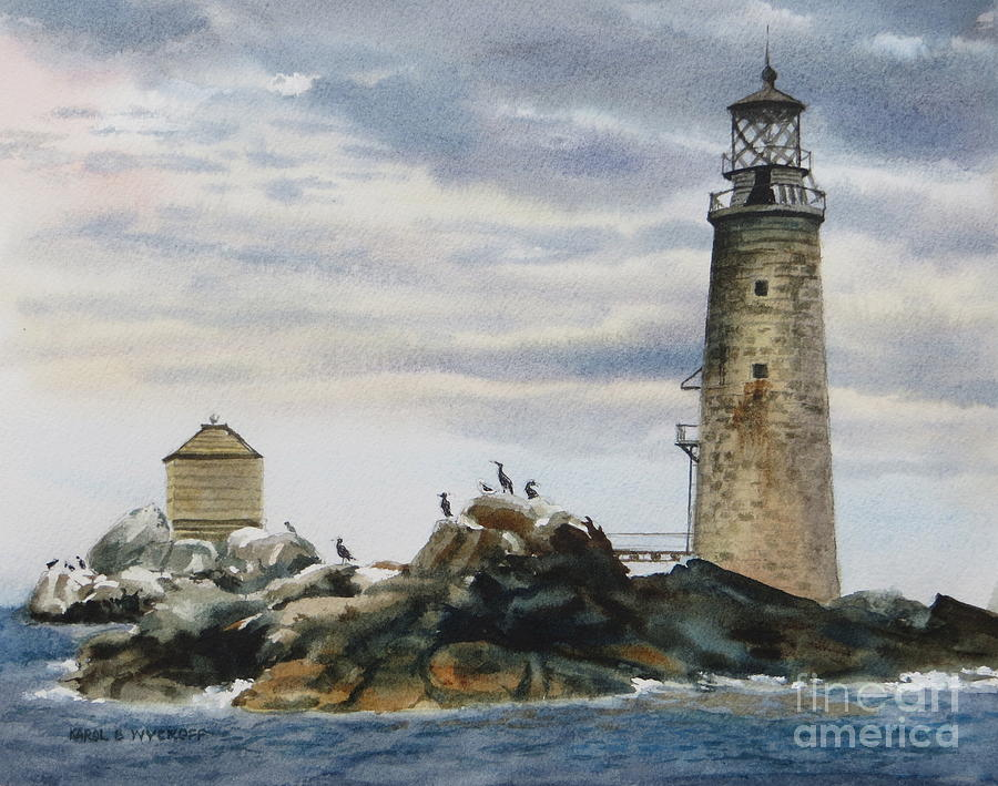 Graves Light House Painting
