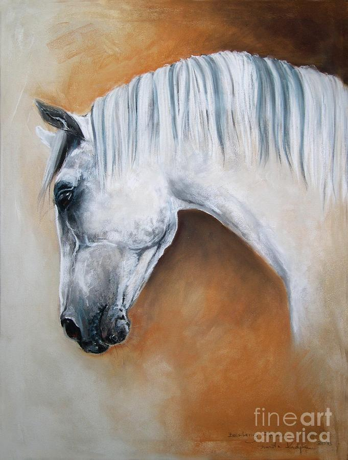 Gray Stallion Xxoo Painting