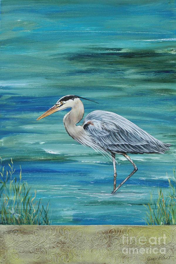 Heron Paintings Images