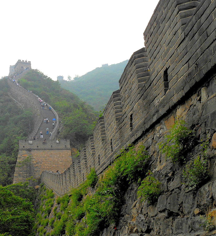 Great Wall Of China Photograph - Great Wall 1 by Kay Gilley