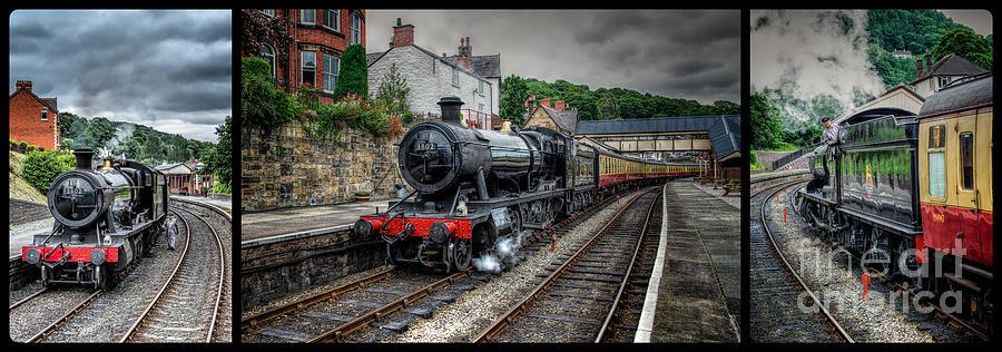 Great Western Locomotive Photograph