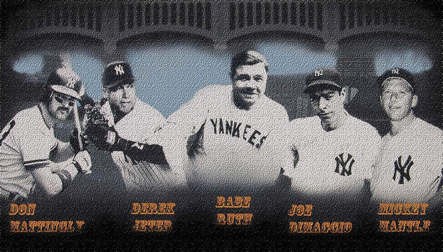 Greatest Yanks Ever Digital Art  - Greatest Yanks Ever Fine Art Print