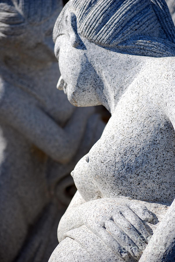 Sculpture Photograph - Greek Statues by Antony McAulay