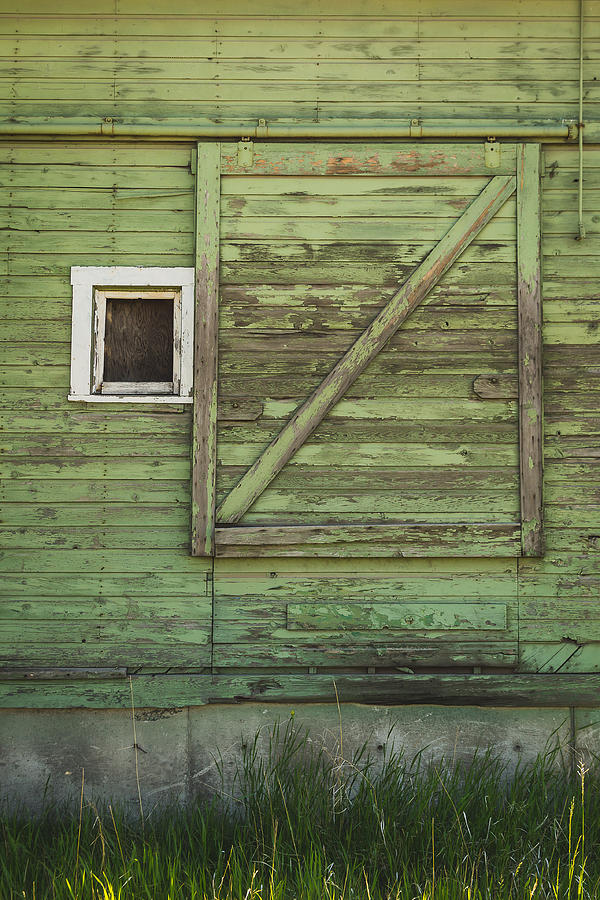 Green Barn Photograph  - Green Barn Fine Art Print