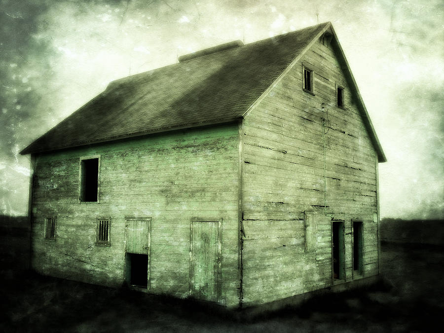 Green Barn Photograph