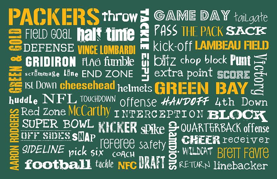 Green Bay Packers Digital Art
