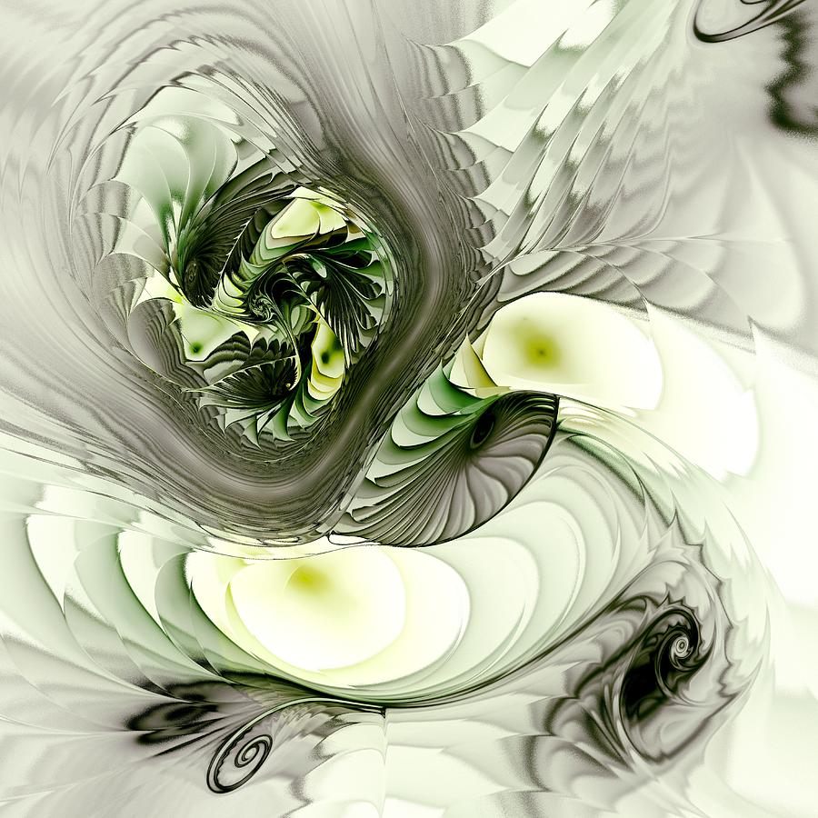 Green Dragon Digital Art