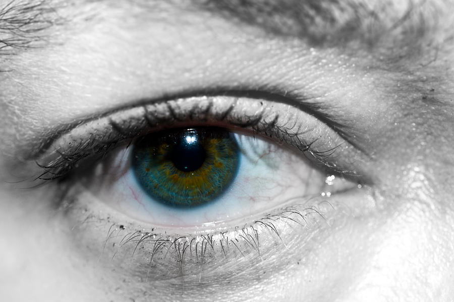 Green Eye Photograph