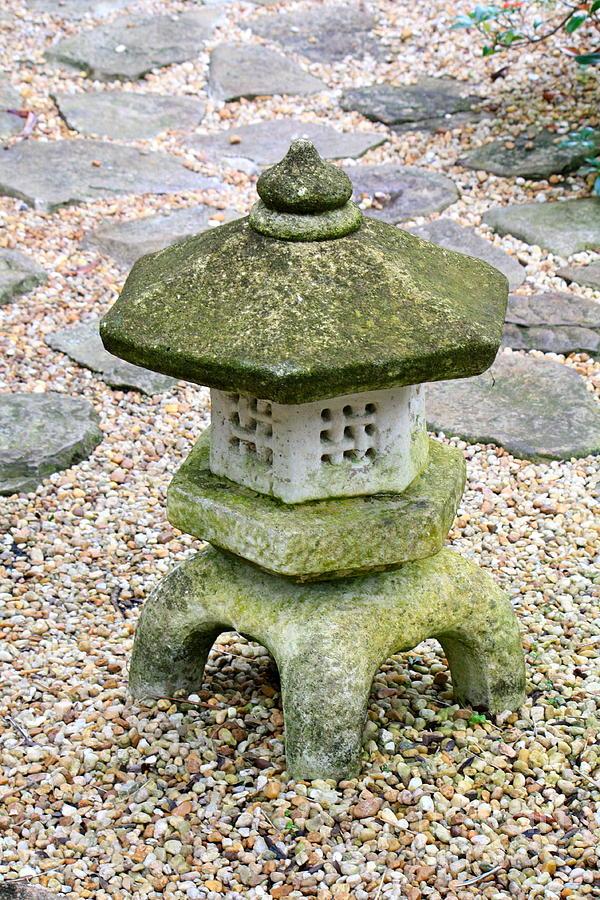 Green Garden Pagoda Photograph