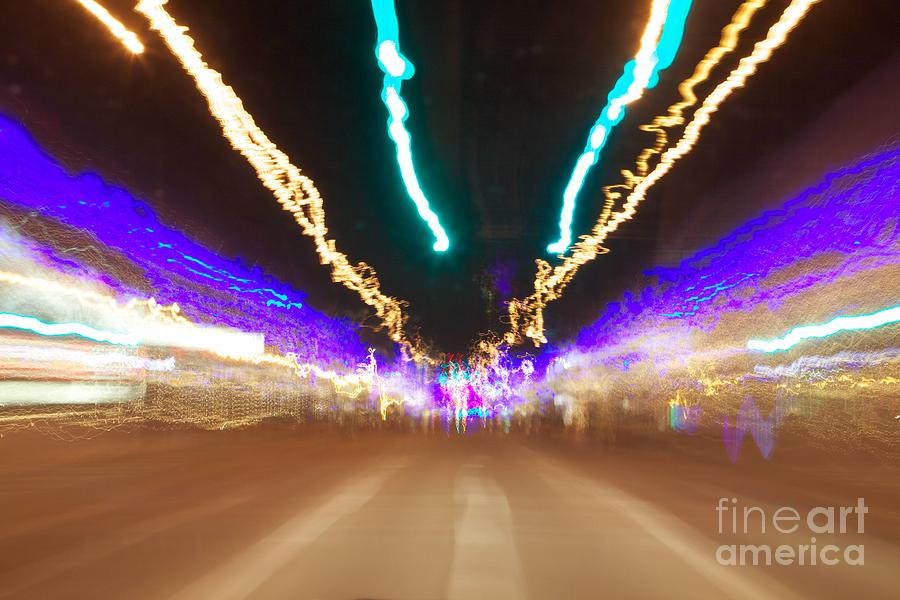 Green Light Go Photograph  - Green Light Go Fine Art Print