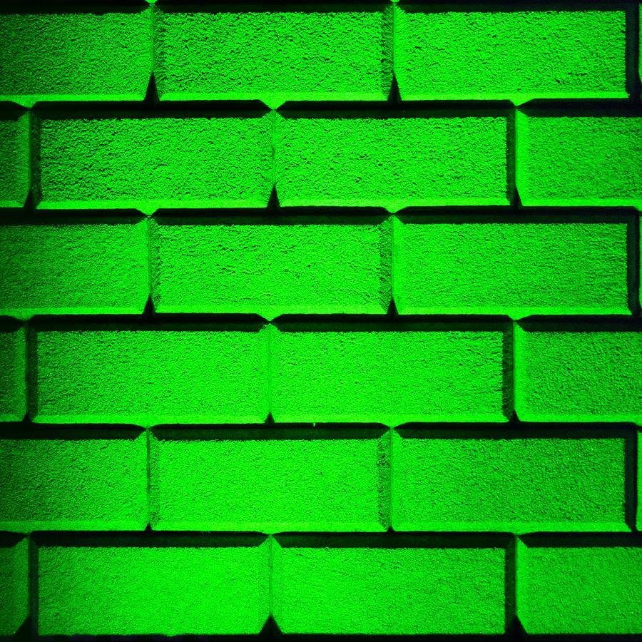Green Wall Photograph