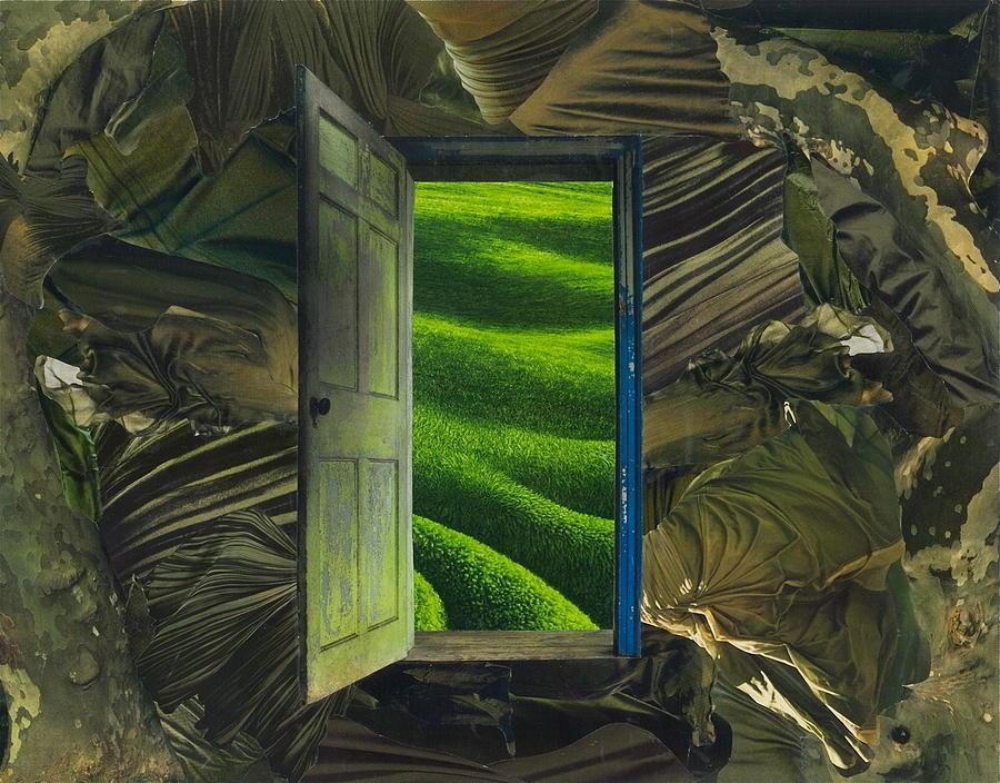 Greener Pastures Mixed Media