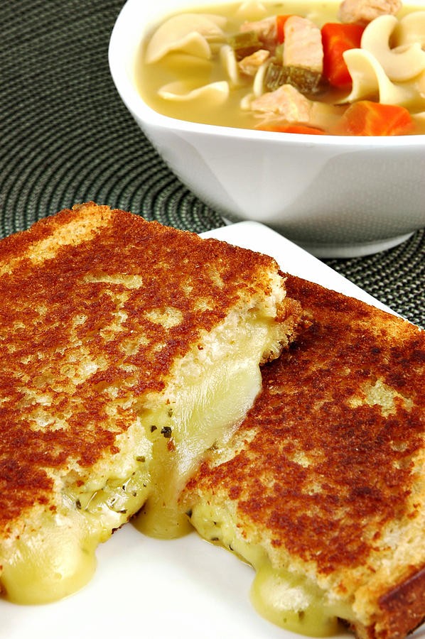 Grilled Cheese Photograph