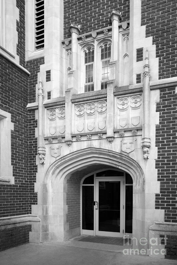 Grinnel College Collegiate Entryway Photograph