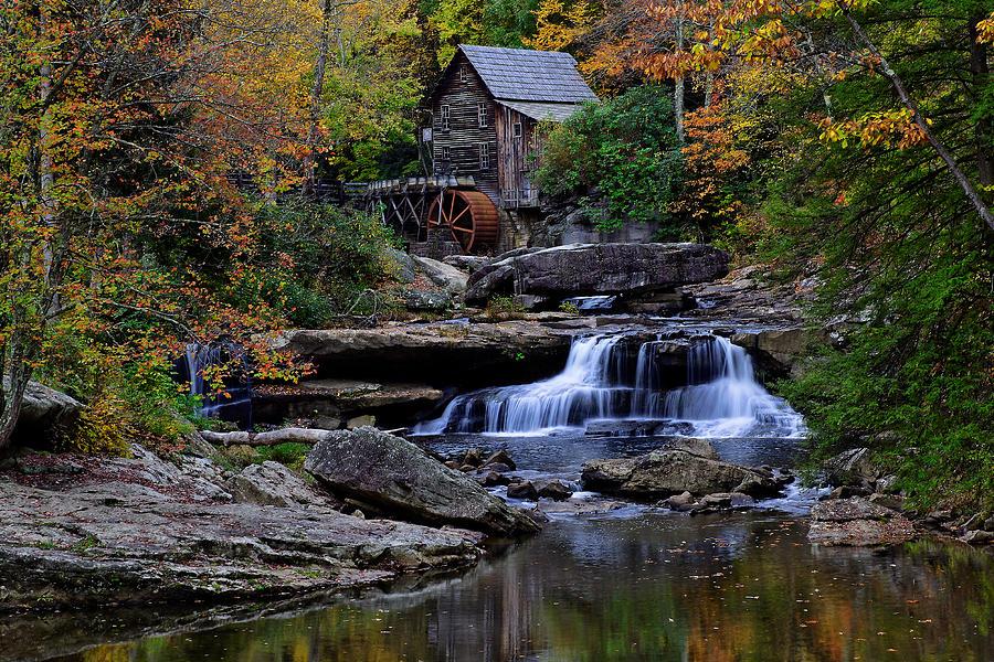 Grist Mill Falls Photograph