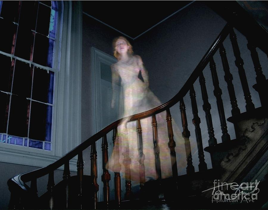 Paranormal Photograph - Grosvenor Ghost by Tom Straub