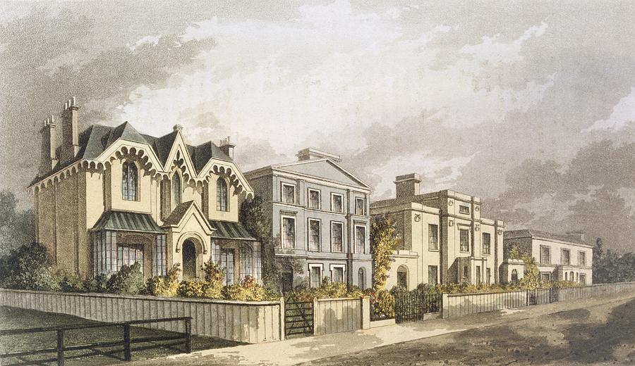 Group Of Villas In Herne Hill Drawing