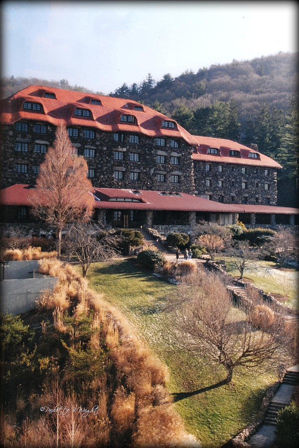 Grove Park Inn In Early Winter Photograph