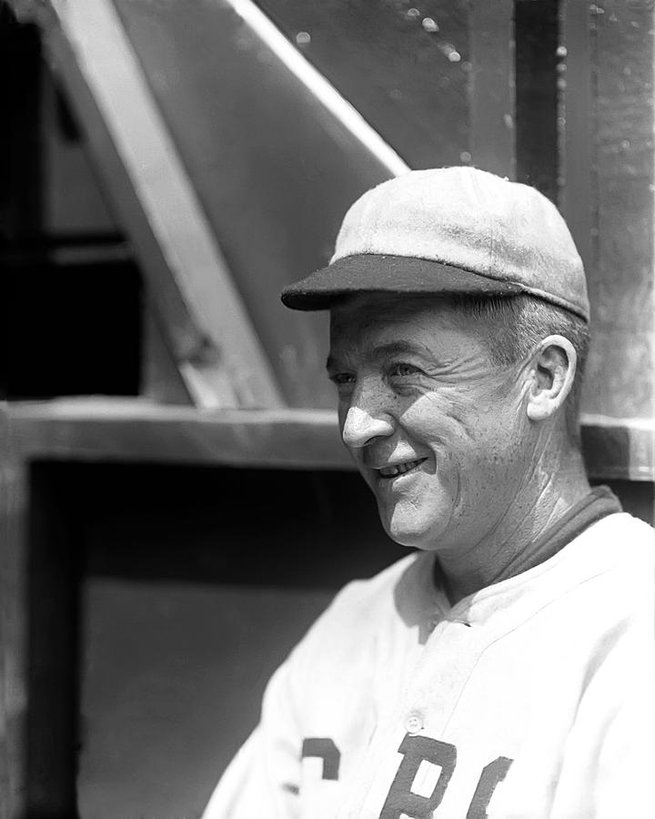 Grover Cleveland Alexander Smiling Photograph