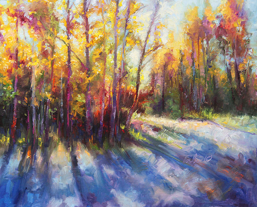 Alaska Painting - Growth by Talya Johnson