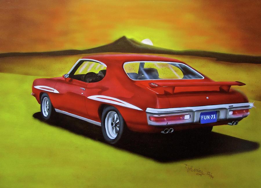 Gto 1971 Painting