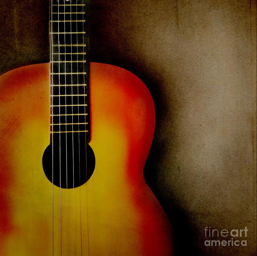 Guitar Pyrography