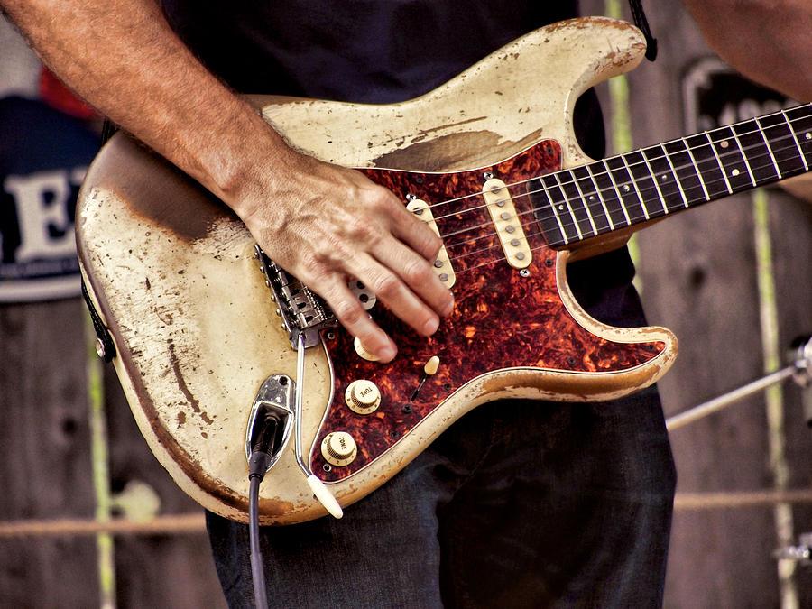 Guitar Man Photograph