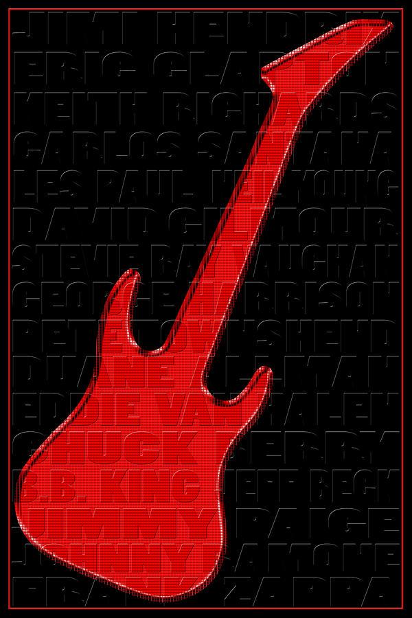 Guitar Players 1 Photograph