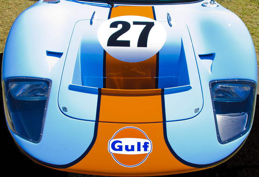 Gulf Ford Gt40 Photograph