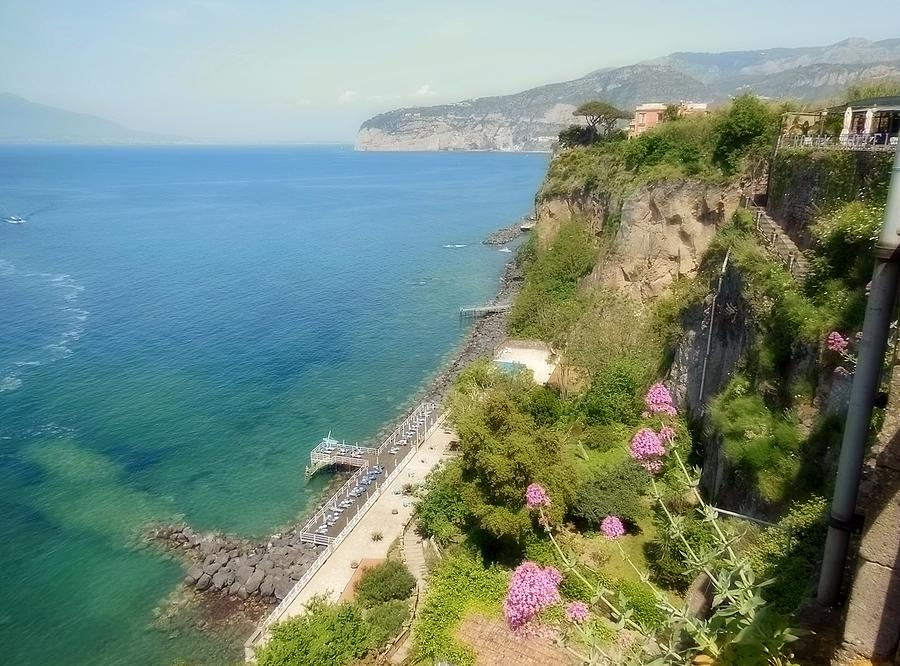 Gulf Of Sorrento Photograph