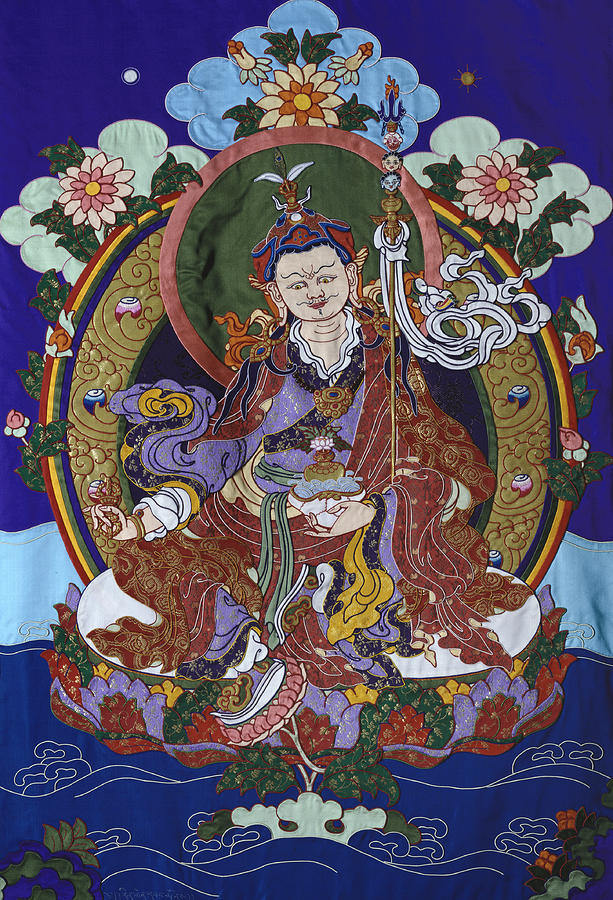 Guru Rinpoche Tapestry - Textile