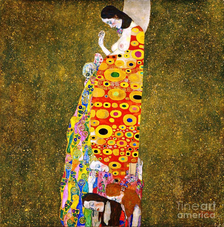 Gustav Klimt - Hope II Painting