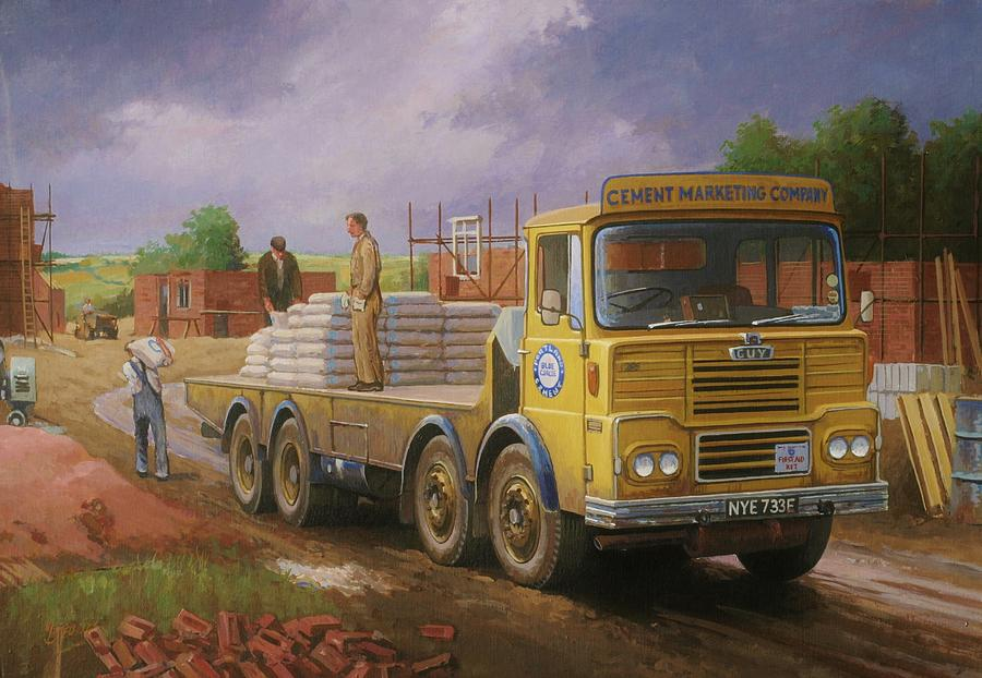 Guy Big J Eightwheeler. Painting