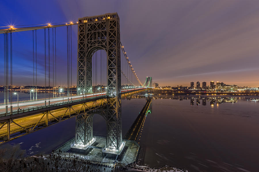 Gwb For Super Bowl Xlviii Photograph