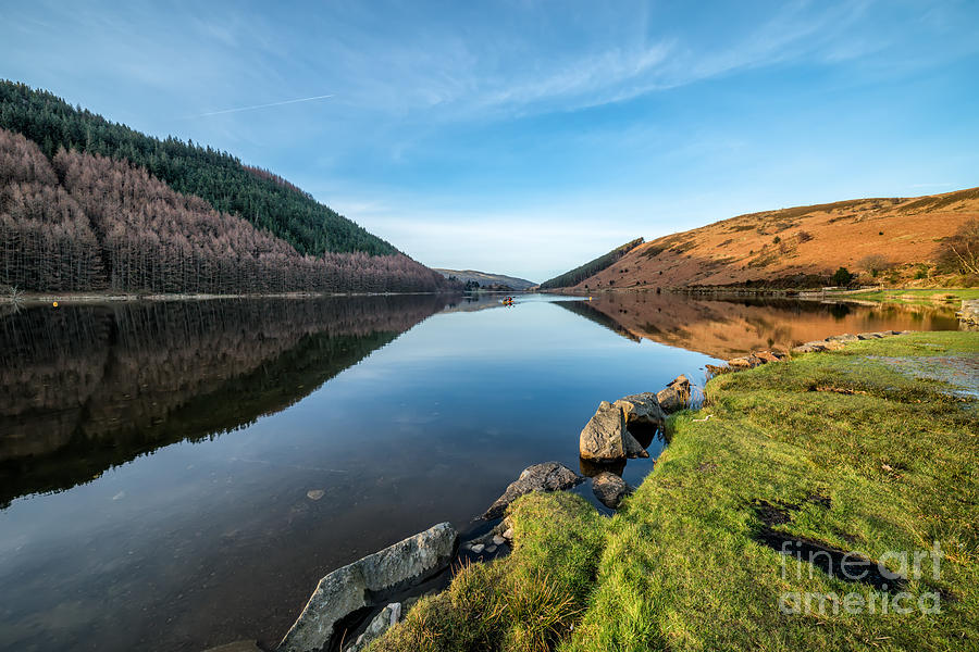 Gwydyr Forest Lake Photograph