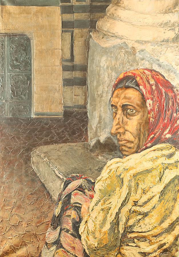 Gypsy Woman Painting Gypsy Woman Painting b...